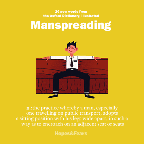 20 new words from the Oxford Dictionary, illustrated . Image 14.