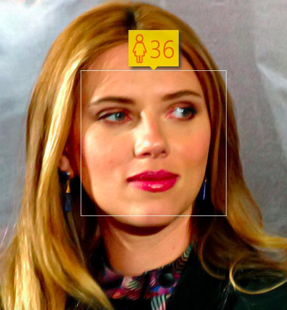 Scarlett Johansson. Estimated Age: 36. Actual Age: 30.. Image 6.