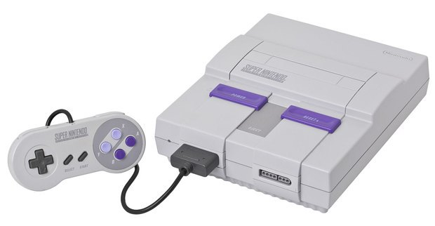 North American Super Nintendo Entertainment System circa 1991 via Wikipedia. Image 2.