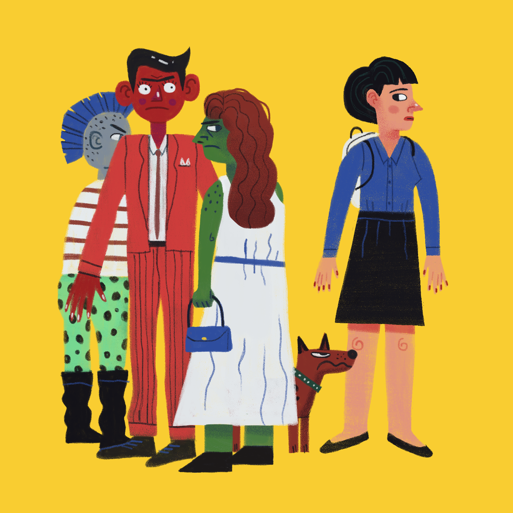New Yorkers' seven most common anxieties, illustrated. Image 7.