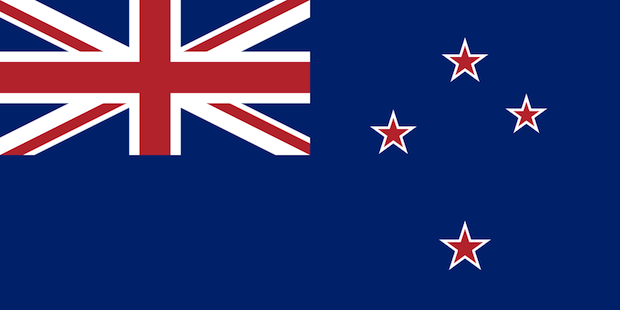 Current New Zealand flag. Image via Wikipedia. Image 1.