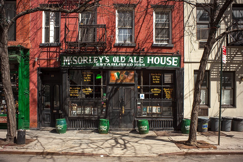 15 East 7th Street 1997 McSorley Old Ale House →2015 McSorley Old Ale House. Image 4.
