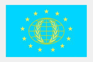 "How does this ""International Flag of Planet Earth"" compare to those in science fiction?. Image 6."