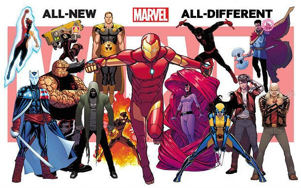 Marvel's All-New All-Different Universe via Marvel.. Image 2.