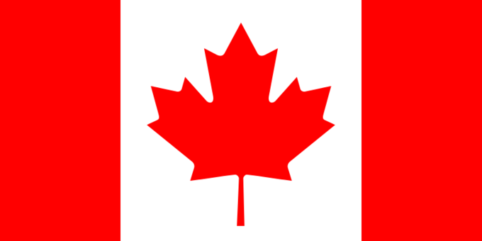 Canadian flag. Image: Wikipedia. Image 7.