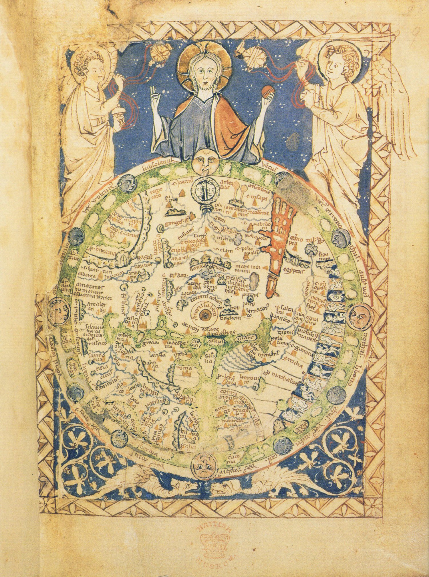 Paradise maps, monk tabloids and monsters: 1,000 years of medieval cosmography. Image 2.