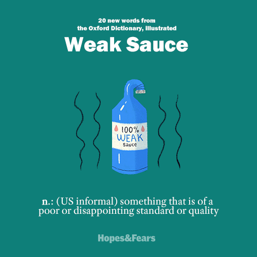20 new words from the Oxford Dictionary, illustrated . Image 21.