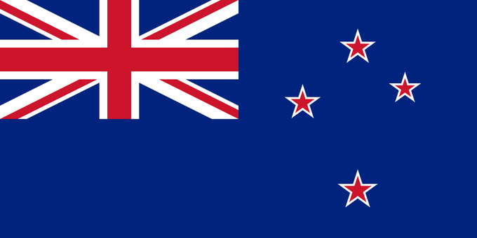 New Zealand's flag. Image: Wikipedia. Image 1.
