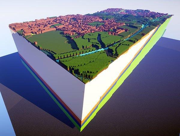 Walk through these stunning British landscapes built in Minecraft. Image 2.