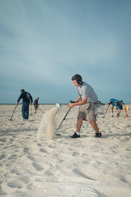 Digging for glory with Long Island's beachcombers. Image 8.