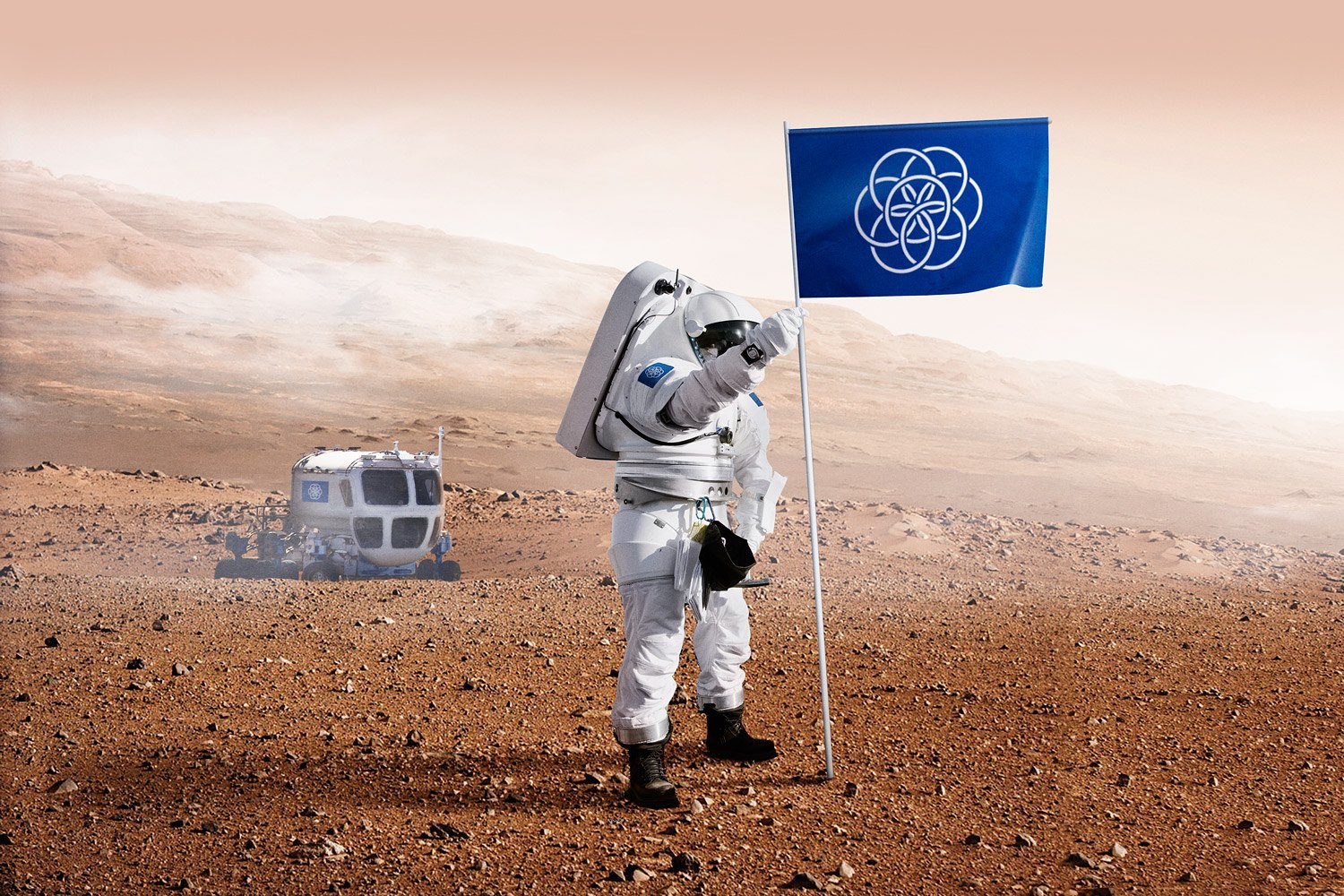 "How does this ""International Flag of Planet Earth"" compare to those in science fiction?. Image 13."