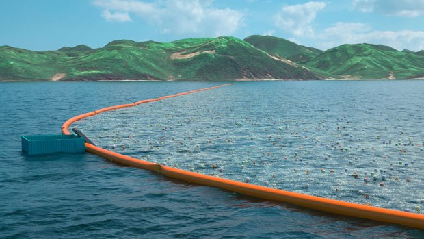 Image via The Ocean Cleanup. Image 1.