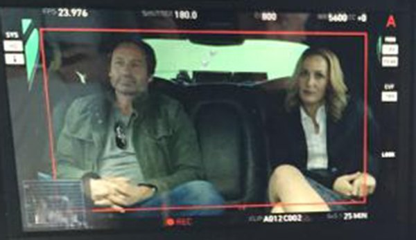 Your first look at Scully and Mulder in the new X-Files. Image 1.