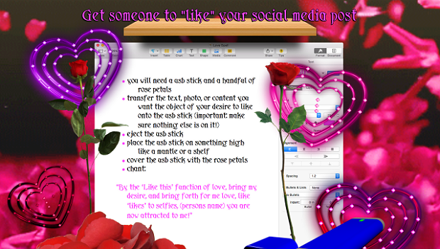 "Get someone to ""like"" your social media, via Molly Soda at Newhive.com.. Image 3."