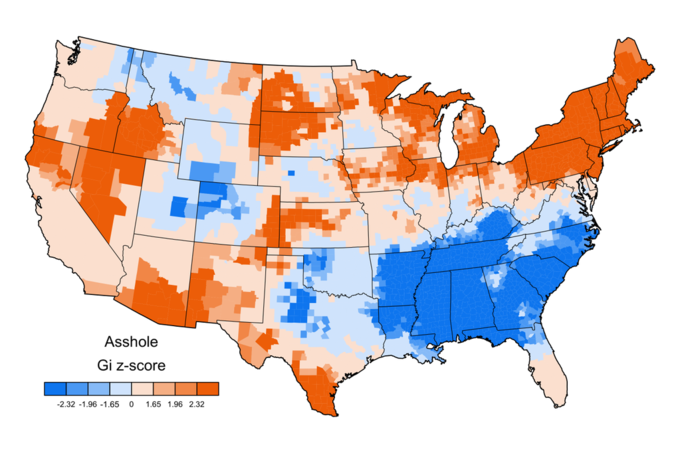 What f@#cking swear word does each American state use the most? . Image 3.