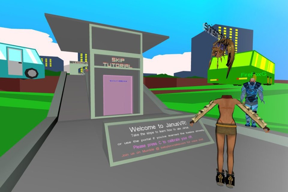 How virtual reality is turning browsers into walkable cities. Image 9.
