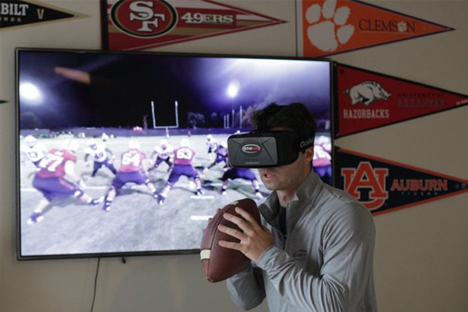 How virtual reality training is changing American Football . Image 3.