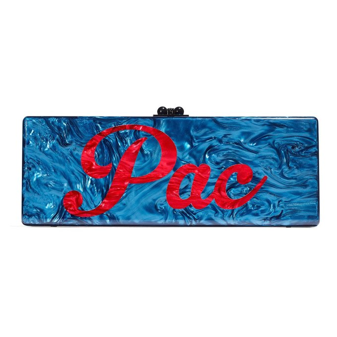 """Gwyneth Paltrow is selling wallets that say """"Pac"""" and """"Biggie"""" either side for over $1,500. Image 2."""