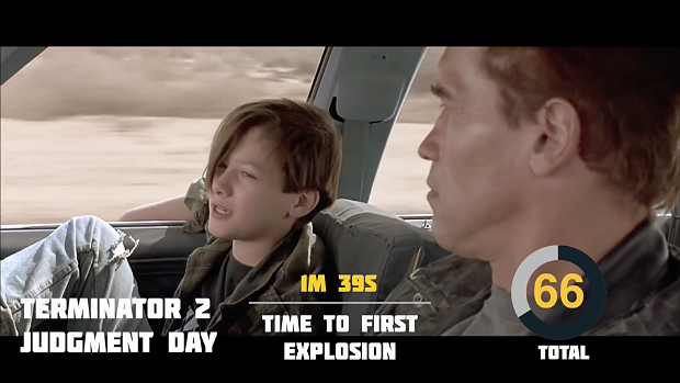 Explosions in 'Terminator 2',  via YouTube.. Image 2.