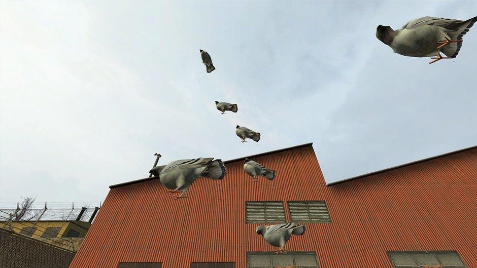 """Stacked pigeons"" (Half-Life 2), Robert Overweg. Image 9."