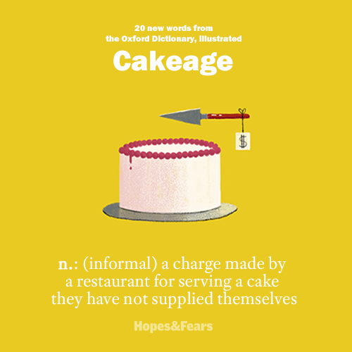 20 new words from the Oxford Dictionary, illustrated . Image 6.