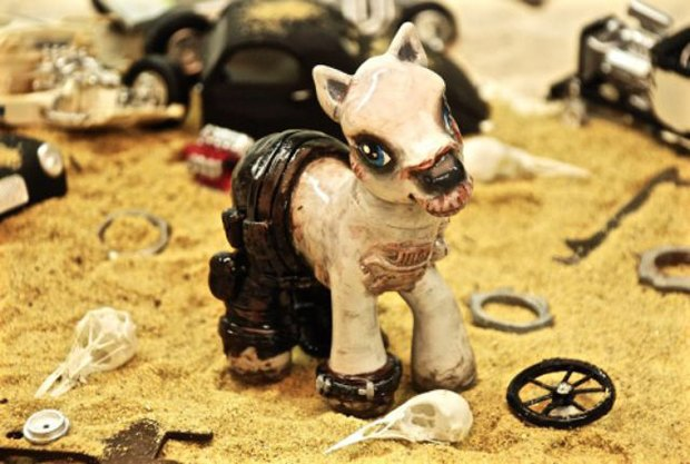 My Little Ponies go Mad Max. Image 2.