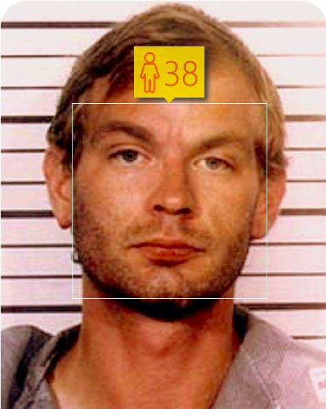 Jeffrey Dahmer. Estimated Age: 38.  Age of Death: 34.. Image 3.