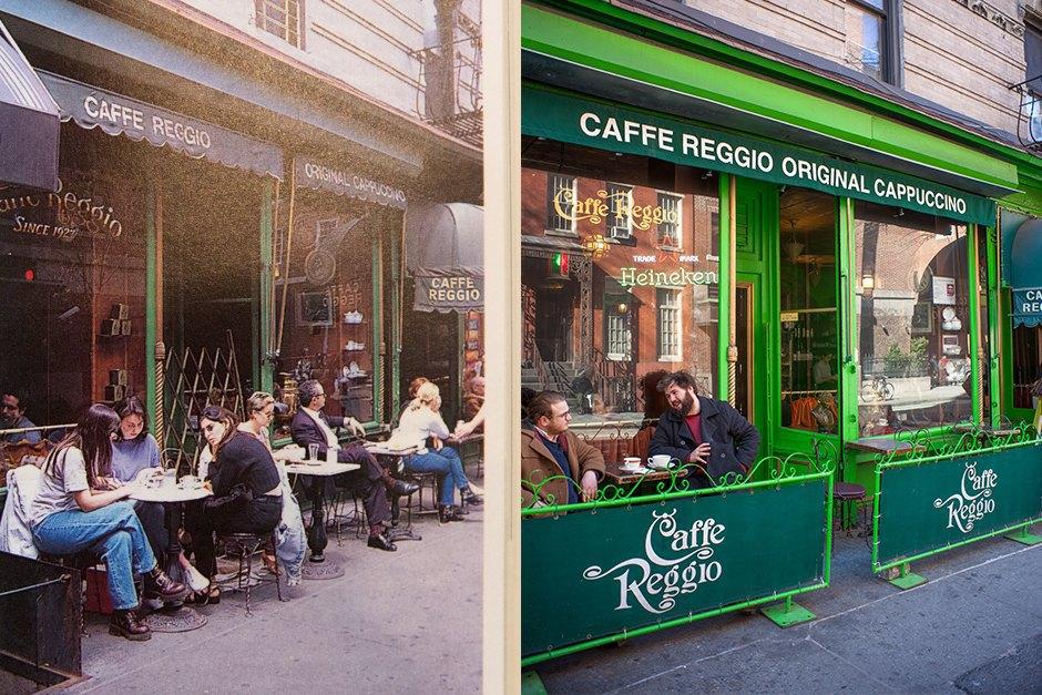 119 Macdougal Street 1997 Cafe Reggio →2015 Cafe Reggio. Image 15.