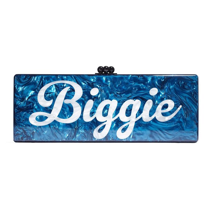"""Gwyneth Paltrow is selling wallets that say """"Pac"""" and """"Biggie"""" either side for over $1,500. Image 1."""