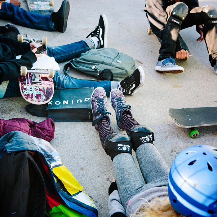 Fighting fear with the skater girls of NYC. Image 8.