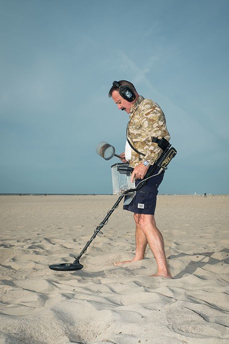Digging for glory with Long Island's beachcombers. Image 2.