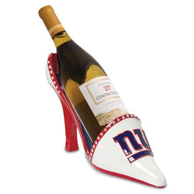 NFL Wine Shoe Holder. Image via Skymall.tumblr.com. Image 4.