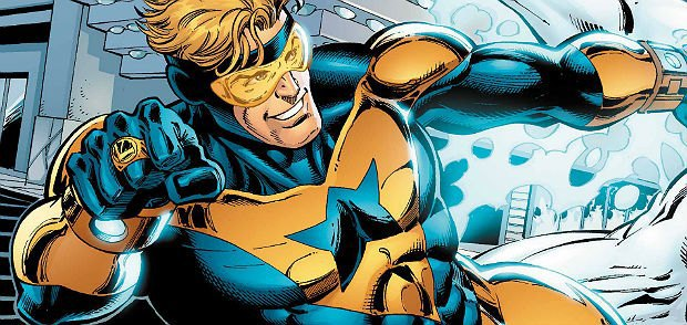 Booster Gold, via DC Comics.. Image 3.