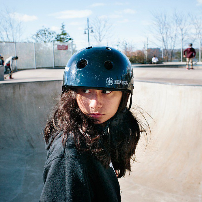 Fighting fear with the skater girls of NYC. Image 10.
