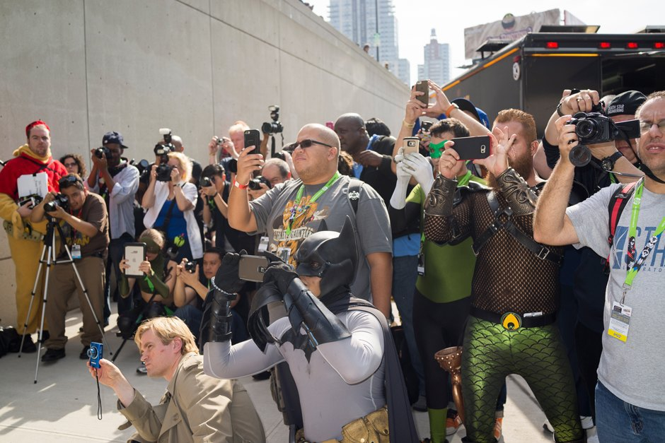 Photographers at Comic Con.. Image 10.