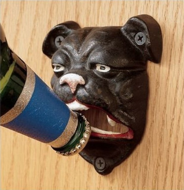 French Bull Dog Bottle Opener. Image via SkyMall. Image 5.