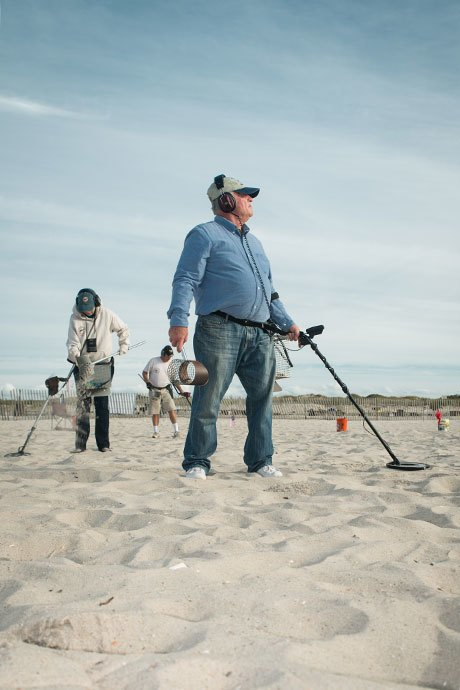 Digging for glory with Long Island's beachcombers. Image 5.