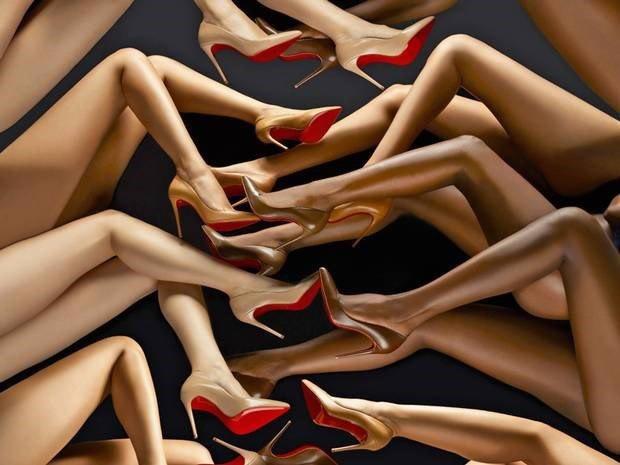 Image: Louboutin via Dazed. Image 1.