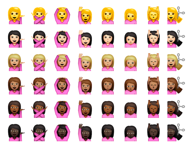Here's what people are saying about the diverse Apple emojis available today. Image 1.
