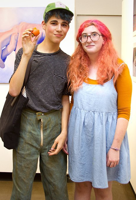 Welcome to Juvenilia, New York City's first art salon for teens. Image 4.