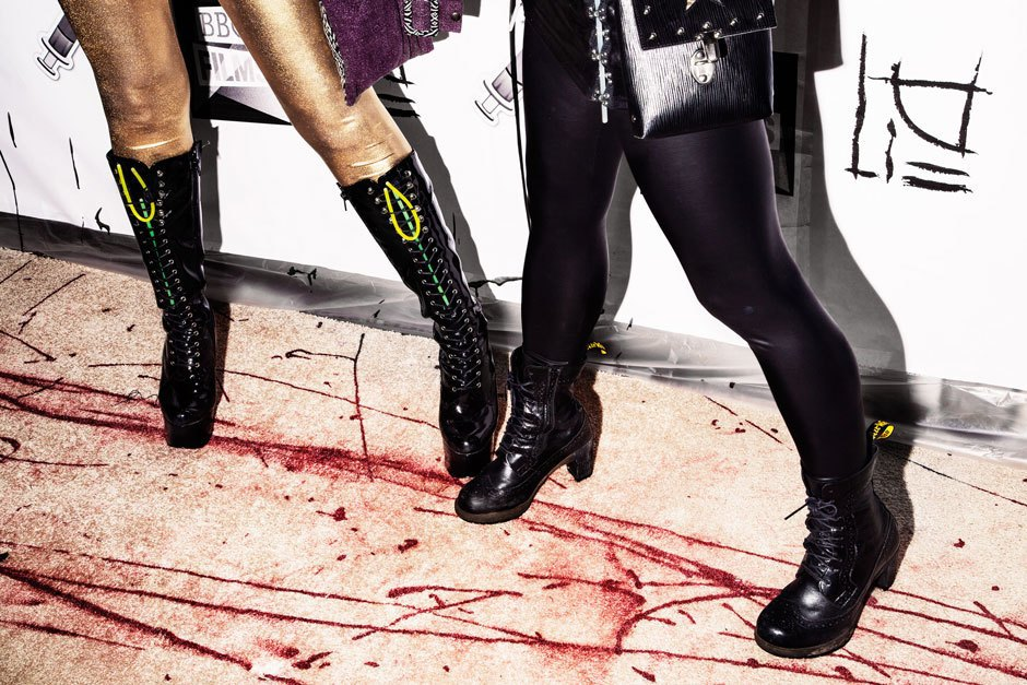 A bloody hot mess of photos from NYC's Blade Rave. Image 5.