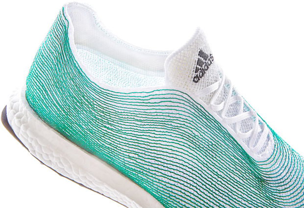 Adidas has released a line of shoes made from ocean trash. Image 2.
