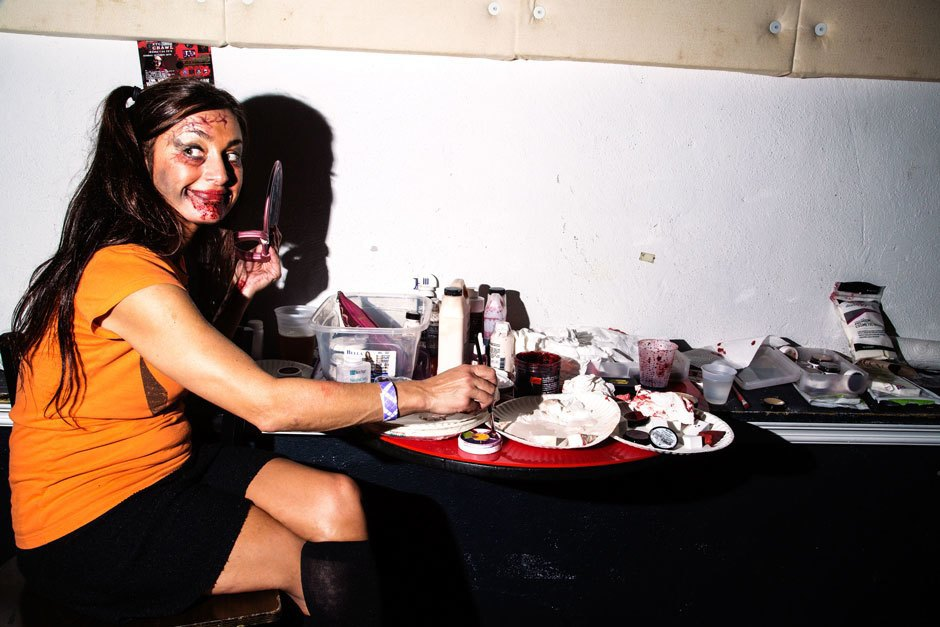 A bloody hot mess of photos from NYC's Blade Rave. Image 10.