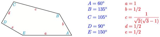 New tessellating pentagonal shape discovered. Image 2.