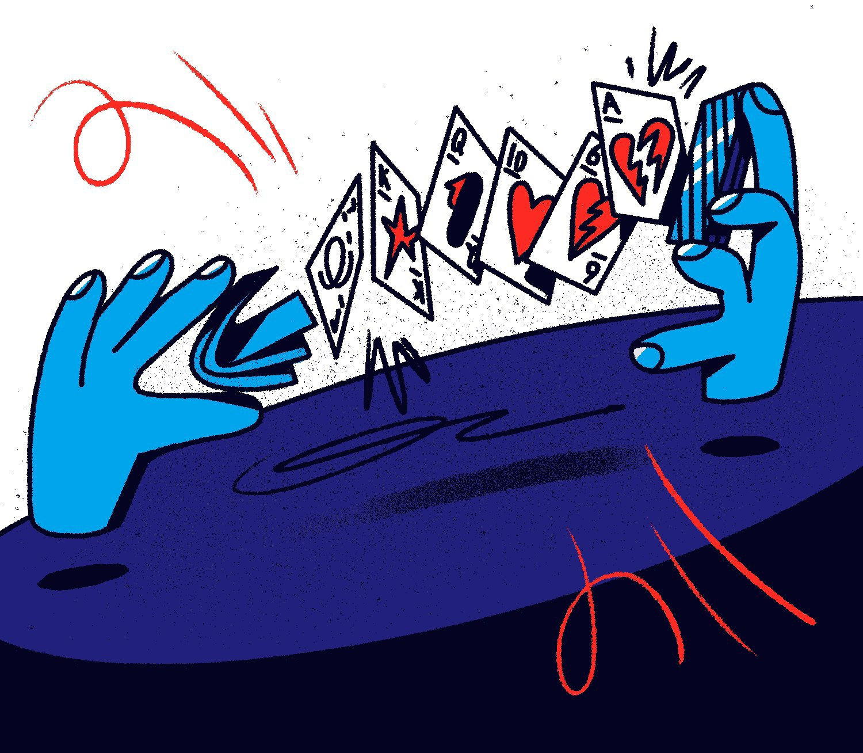 I do magic tricks and hammer nails up my nose. Image 4.
