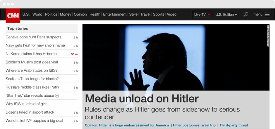 That inevitable Donald Trump-to-Adolf Hitler converting plug-in is here. Image 2.