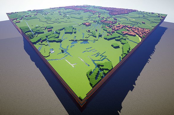 Walk through these stunning British landscapes built in Minecraft. Image 3.