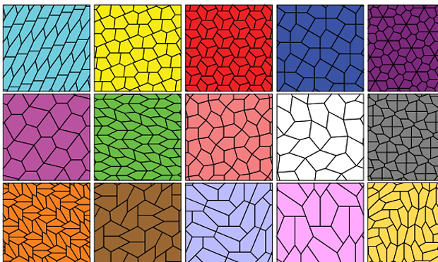 New tessellating pentagonal shape discovered. Image 1.