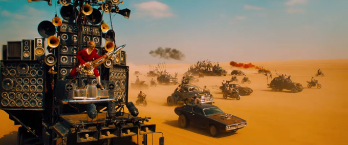 Screenshot from Mad Max: Road Fury trailer via YouTube.. Image 1.