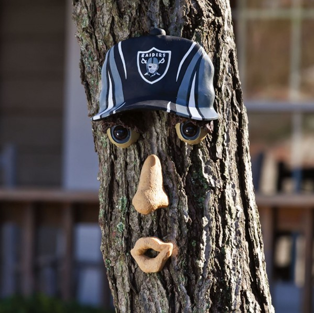 NFL Forest Face. Image via SkyMall. Image 1.